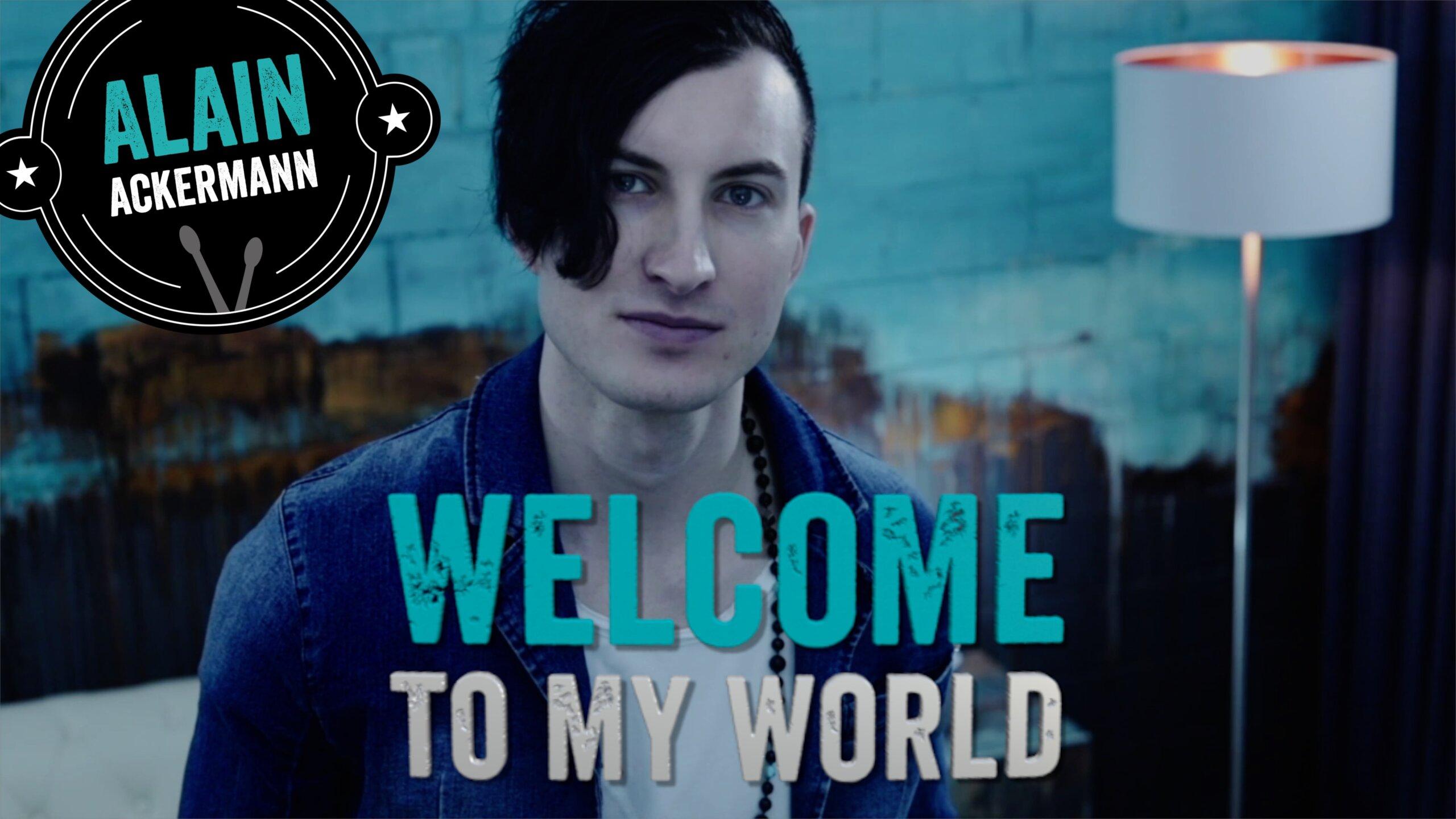 Alain Ackermann Drum School Welcome to my world